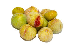Pile de figs. jaunes. Images libres de droits