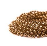 Pile de fil de guirlande de perles Photographie stock libre de droits