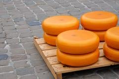 Pile de fromage en Gouda Photo libre de droits