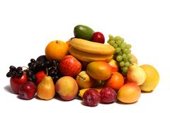 Pile de fruit Images libres de droits