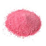 Pile de fruit Juice Powder Concentrate sur le blanc photos stock