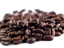 Pile de grain de café Photographie stock libre de droits