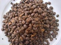 Pile de grains de café Image libre de droits