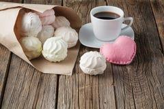 Pile de guimauve colorée par pastrel Photos stock