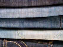 Pile de jeans Images stock