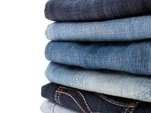 Pile de jeans Image libre de droits