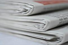 Pile de journaux Photo libre de droits