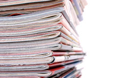 pile de journaux Image stock