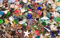 Pile de l'accessoire coloré Images stock