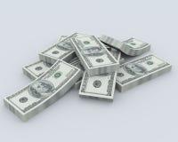 Pile de l'argent Photo libre de droits