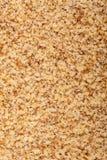 Pile de la noix moulue Image libre de droits