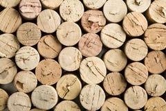 Pile de liège de vin Photos libres de droits