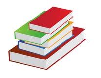 Pile de livre illustration stock