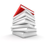 Pile de livre Photographie stock