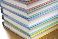 Pile de livre Photos stock