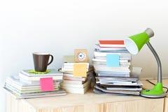 Pile de livre Photos stock