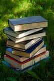 Pile de livres images libres de droits