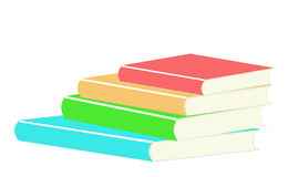 Pile de livres Photo stock