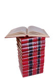 pile de livres Photos stock