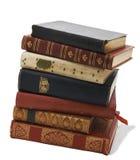 Pile de livres antiques Images libres de droits