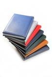 Pile de livres colorés Images libres de droits