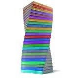 Pile de livres colorés illustration de vecteur