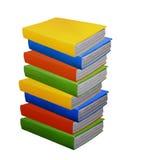 Pile de livres colorés Image libre de droits