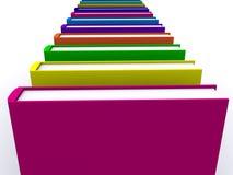 Pile de livres 3d image stock