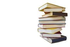 Pile de livres de cru Image stock