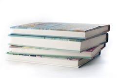 Pile de livres de cru Photographie stock