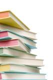 Pile de livres de cru Photographie stock libre de droits