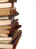 Pile de livres de cru Images stock
