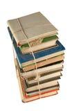 Pile de livres poussiéreux Image libre de droits