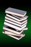 Pile de livres reliés Images stock