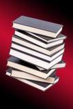 Pile de livres reliés Images libres de droits