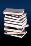 Pile de livres reliés Photos stock
