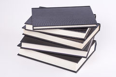 Pile de livres reliés Image libre de droits