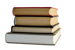 Une pile de livres. Image libre de droits