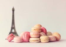 Pile de macarons Image libre de droits