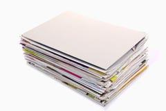 Pile de magazines Photo libre de droits