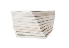 Pile de magazines Images libres de droits