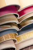 Pile de magazines ouvertes Photographie stock