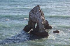 Pile 2 de mer de la Californie Photographie stock libre de droits