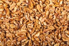 Pile de noix écrasée Photographie stock