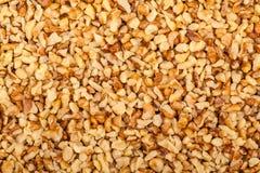 Pile de noix écrasée Photos stock