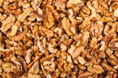Pile de noix écrasée Photos libres de droits