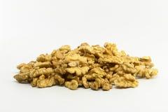Pile de noix Photos stock