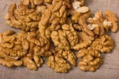 Pile de noix Images stock