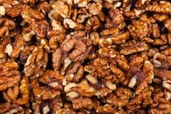 Pile de noix entière Photographie stock