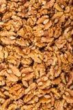 Pile de noix entière Image libre de droits